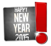 Happy new year design Stock Images