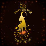 Happy new year design. Happy new year graphic design , vector illustration royalty free illustration