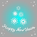 Happy New Year 2017. Design greeting card. Happy New Year 2017. Design greeting card Stock Photo