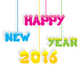 Happy new year 2016 design Stock Photo