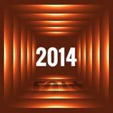 Happy new year design. Happy new year 2014 illustration stock illustration