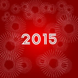 Happy New Year 2015 Royalty Free Stock Photography