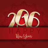 Happy New Year design. Happy New year typography design Royalty Free Stock Image