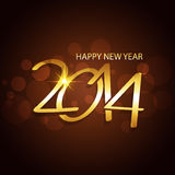 Happy new year design. Happy new year 2014 vector design Royalty Free Stock Photography