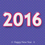 Happy new year 2016 design. Vector illustration Stock Images