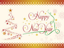 Happy new year desktop background Royalty Free Stock Images
