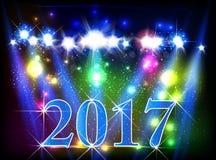 Happy New Year 2017 Stock Photography