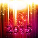 Happy New Year 2015. Easy editable stock illustration