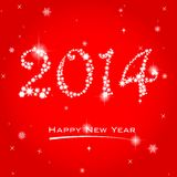 Happy New Year. Easy to edit vector illustration of Happy New Year Royalty Free Stock Image