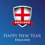 Happy new year England vector Stock Image