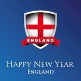 Happy new year England vector Stock Image
