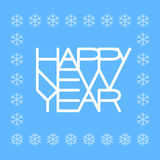 Happy New Year. Eps8. RGB Global colors Royalty Free Stock Image