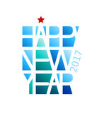 Happy New Year. Eps8. RGB Global colors Royalty Free Stock Photos