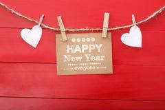 Happy New Year everyone! Stock Photo