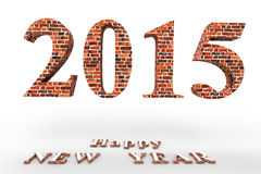 Happy NEW YEAR. ! In the new 2015, everything will be new Stock Photo