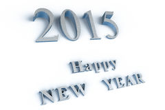 Happy NEW YEAR 2015. Happy NEW YEAR! In the new 2015, everything will be new Stock Photo