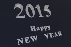 Happy NEW YEAR 2015. Happy NEW YEAR! In the new 2015, everything will be new Stock Image