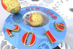 Happy New Year 2016. Royalty Free Stock Photo