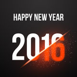 Happy New Year 2016 Explosion Poster Background. Illustration of Happy New Year 2016 Explosion Poster Background Stock Images