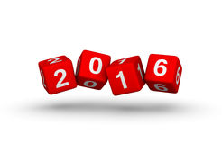 Happy New Year 2016. Stock Photos