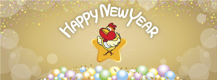 15 Happy new year 17 FB Royalty Free Stock Images