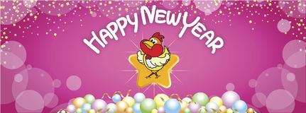 13 Happy new year 17 FB. Background Happy New Year greetings, background Happy New Year greetings Stock Photo