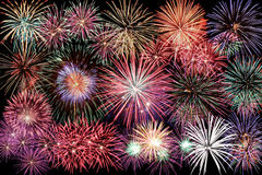 Happy New Year Firework Royalty Free Stock Photo