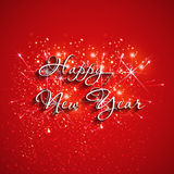 Happy New Year fireworks. Easy all editable Stock Photos