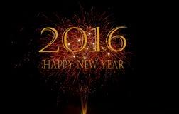 Happy new year 2016 Royalty Free Stock Photo