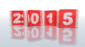 Happy new year 2015! Stock Images
