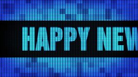 Happy New Year 2024 Front Text Scrolling LED Wall Pannel Display Sign Board