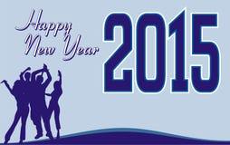 Happy new year 2015_fun Royalty Free Stock Image