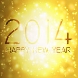 Happy new year in german. Numbers 2014 from snowflakes. Celebration background for your posters Royalty Free Stock Images