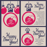 Happy New Year of the Goat!. Vector Design For Chinese Year of The Goat. Translation of calligraphy: Goat Royalty Free Stock Photography