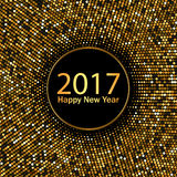 Happy New Year. Gold vector background. 2017 Happy New Year. Gold vector background. EPS10 royalty free illustration