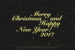 Happy New 2017 Year Stock Photography