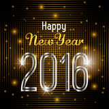 Happy new year 2016. Happy  year  graphic design,  illustration Stock Photo