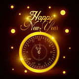 Happy new year 2016. Graphic design,  illustration Stock Photos