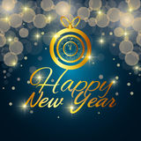 Happy new year 2016. Graphic design,  illustration Stock Images
