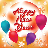 Happy New Year. A great and bright year for all. Happy new year Royalty Free Stock Photography