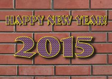 Happy new year greeting Royalty Free Stock Photo