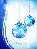 Happy New Year Greeting Card Royalty Free Stock Images