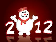 Happy New Year greeting card Stock Photos