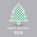 Happy new year 2015 greeting card2. Card for Happy New Year 2015 Stock Photo
