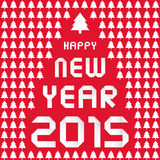 Happy new year 2015 greeting card8 Stock Photos