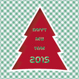 Happy new year 2015 greeting card11 Stock Photo