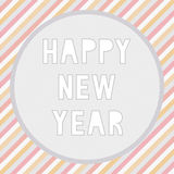 Happy new year greeting card5 Royalty Free Stock Photos