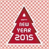 Happy new year 2015 greeting card15 Stock Photography