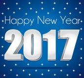 2017 happy new year. Stock Image