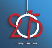 Happy new year 2015 greeting card. Design vector illustration